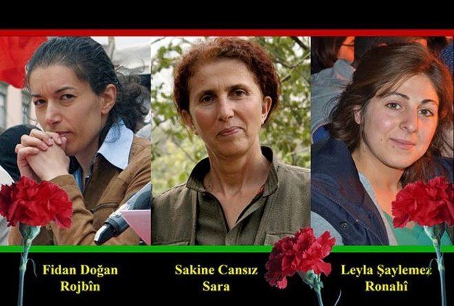 Justice pour Sakine, Fidan et Leyla et libération de Leyla Güven !