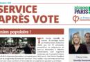 Service après-vote de septembre-octobre 2021 !